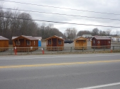 Cabins on Enbridge right of way