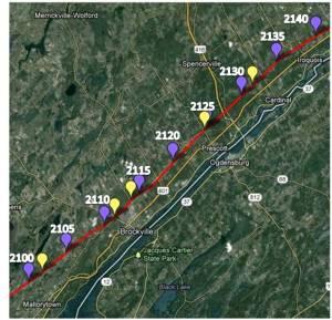 Mallorytown to Iroquois - 2100-2140