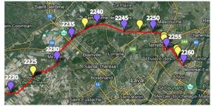 Mirabel to Montreal - 2220-2260