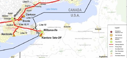2014-11-24 - ENB Line 7 to 11 Hamilton Area Map