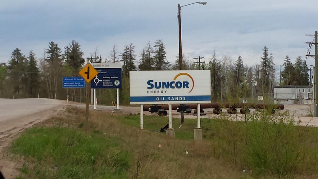 Suncor Oil Sands Map Suncor Oil Sands Operation